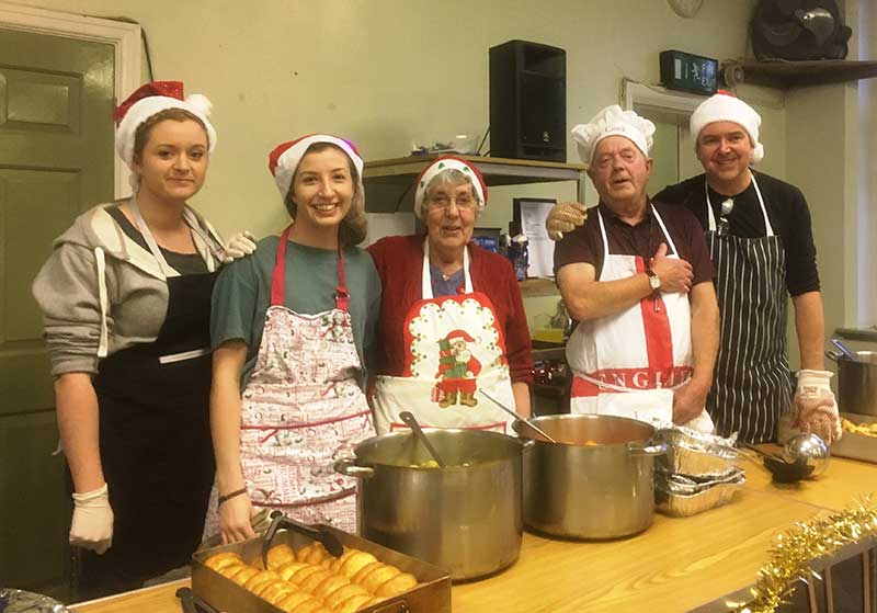 SUPPORT FOR THOSE IN NEED OVER THE CHRISTMAS HOLIDAY – BLOG BY STEVE CLARK OF THE SUNDAY CENTRE